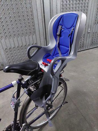 Fotelik dziecięcy rowerowy OK Baby +10 max 22KG na dwa rowery!