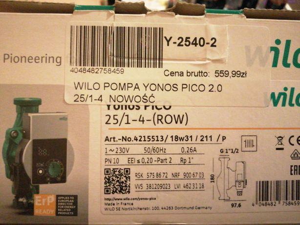 Pompa Wila Yonos Pico 2.0