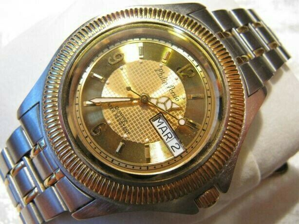 Часы кварцевые Philip Persio мужские механизм MIYOTA Япония