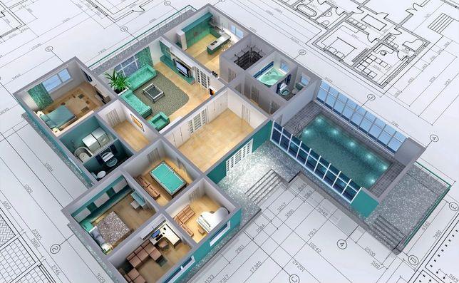 Проект , проектирование домов, магазинов, зданий сооружений