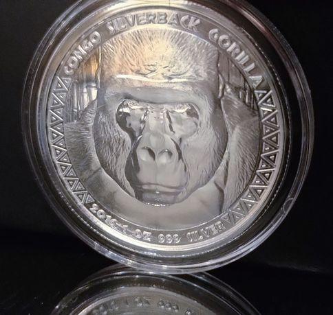 Moneta srebrna Goryl