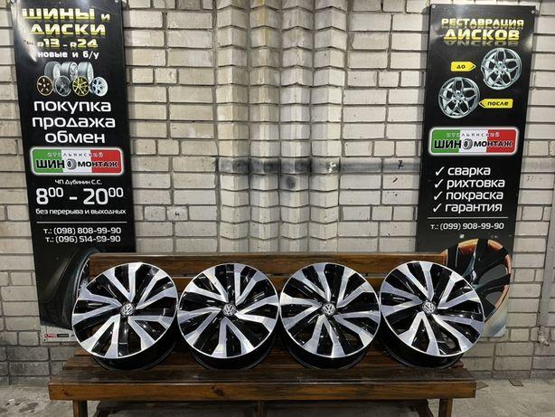 99 Оригинальные литые диски VW Touareg NEW 5/130 R18