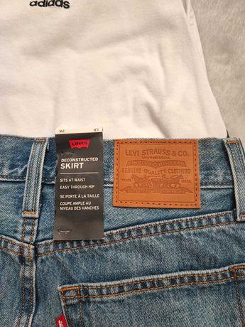 Spódnica jeansowa levis