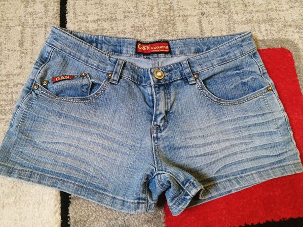 Nowe szorty jeansowe