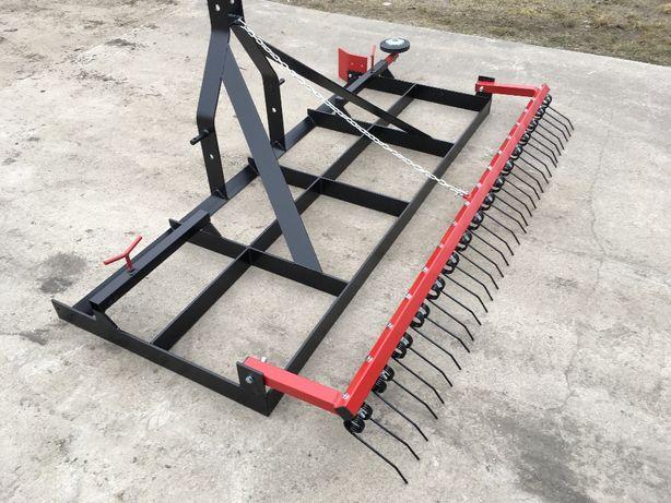 Równiarka niwelator krata wyrównywarka niwelator terenu trawnika padok