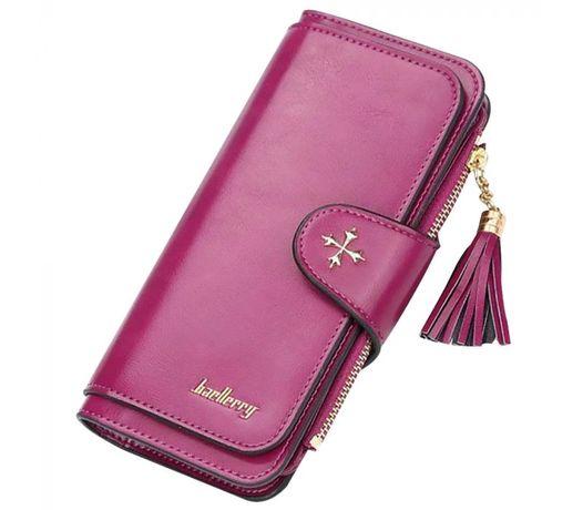 Женский кошелек Baellerry (пурпурный) при покупке+приятный подарок