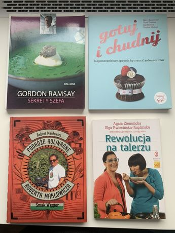 Książki kucharskie - Nowe