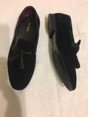 Sapatos Aldo mocassins tamanho 41 usado uma vez