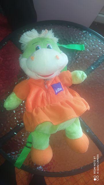 Рюкзак игрушка динозавр