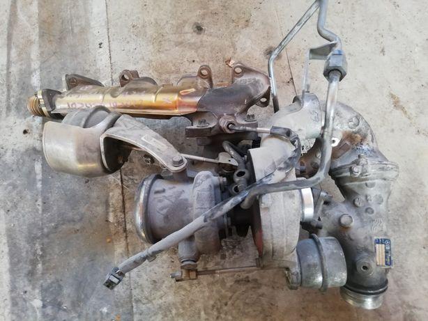 Bi turbo turbosprężarka mercedes w212 220cdi 170km