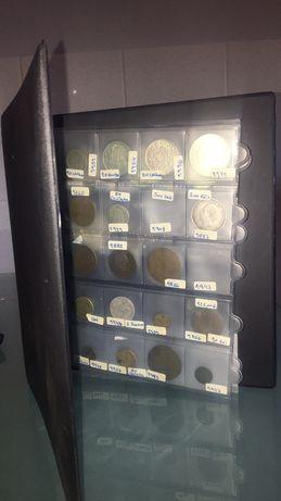 Coleção moedas