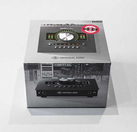 Universal Audio Apollo Twin MKII Duo + Pluginy - Stan idealny