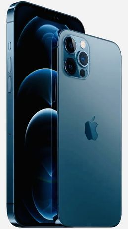 Nowy iPhone 12 Pro Max pacific blue 128GB