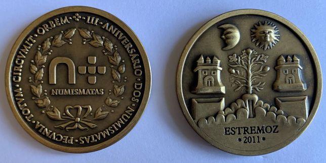 Numismatica - Medalha do 3º Encontro do Fórum dos Numismatas