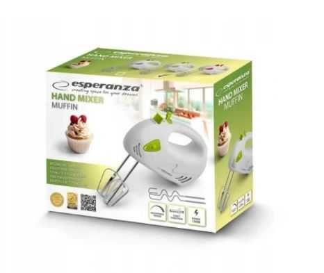 Mikser ręczny Esperanza Muffin EKM007G 150 W zielony