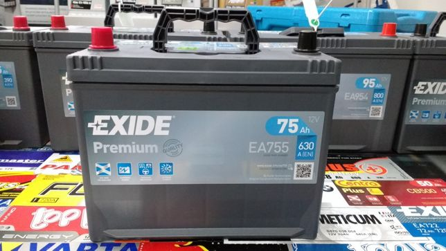 Akumulator Exide Premium EA755 12V 75Ah 630A L+ Kraków CA755