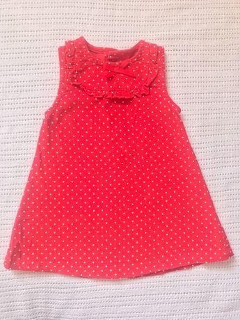 Przesłodka sukienka czerwona 62