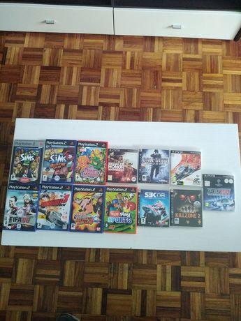 Vendo jogos ps2 ps3