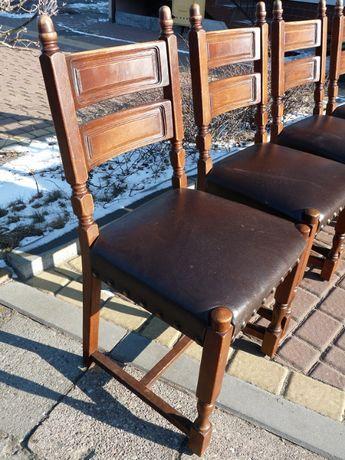 Komplet 4 krzeseł holenderskich
