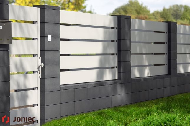 Nowoczesne Ogrodzenie JONIEC ROMA 50 Horizon Najlepsza Cena MK Perfekt