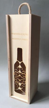caixa para vinho personalizada