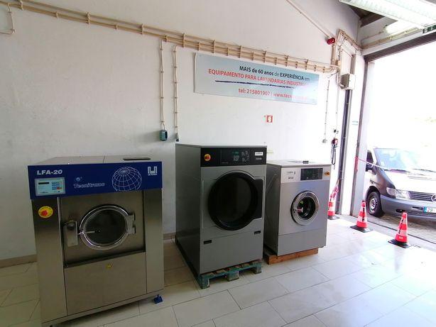 Aluguer de equipamentos Self-service ou para lavandaria industriail