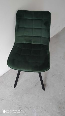 krzesła butelkowa zieleń