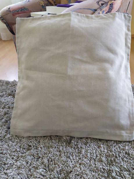 1 poszewka do poduszki na sofę HOLMSUND Nordvala beżowe Ikea- nowe