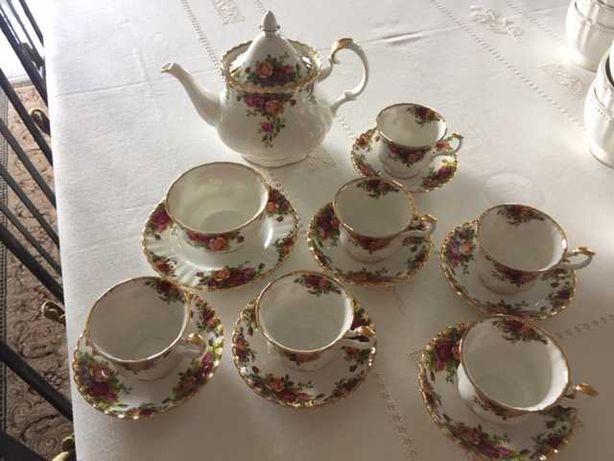 Serviço de chá Royal Albert