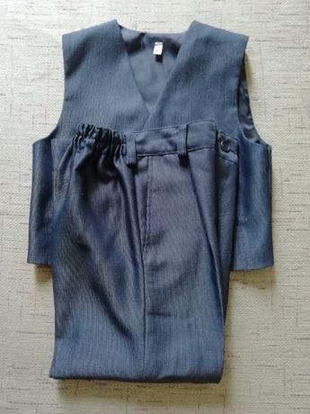 Spodnie wizytowe + kamizelka rozm. 110