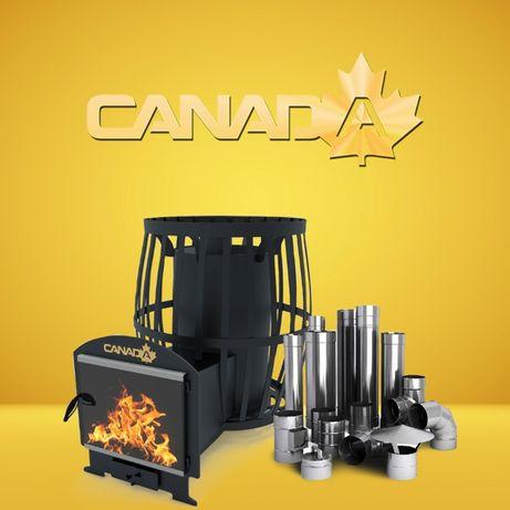 """Печь для Бань-Саун """"CANADA"""" (возможно с выносом, стеклом)"""