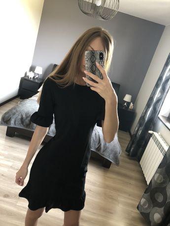Prosta sukienka xs czarna