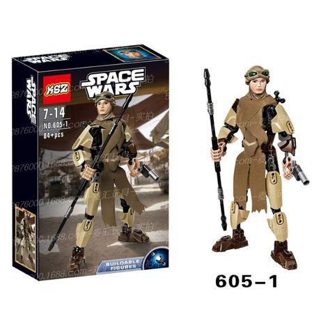 Конструктор KSZ 605-1 Звездные воины Капитан Фазма (аналог Lego Star W