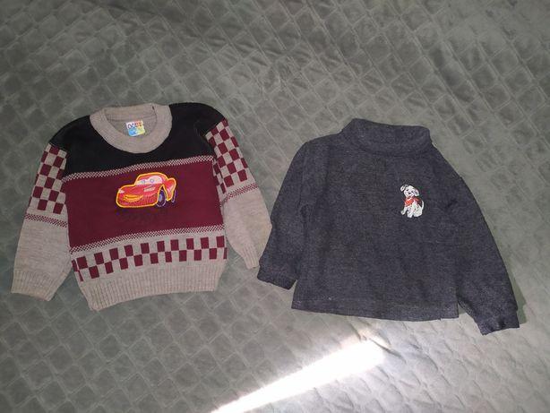 Теплый свитер и гольф, рост 86-92