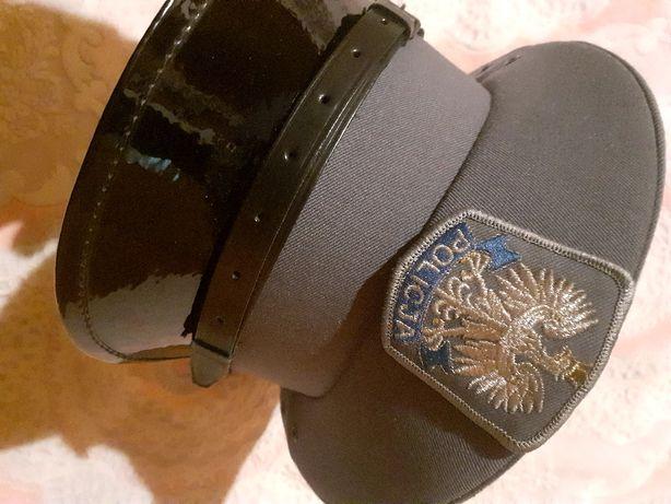 Czapka galowa policyjna r 54-55
