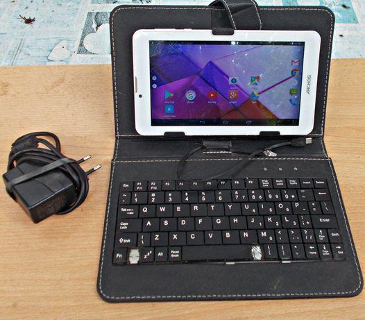 Tablet /Telefon Archos w jednym + klawiatura + etui zestaw