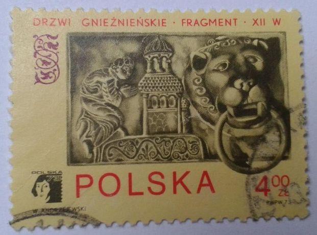 Znaczki pocztowe (skasowane) BUDOWLE ZABYTKI Polska, Rumunia, Francja