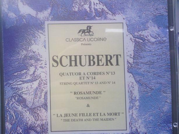 CD Musica Clássica Schubert Brahms Bach Shumann Tchaikovsky Mozart