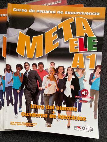 Учебник испанского Meta ele a1