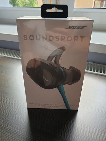 NOWE nieotwierane Bose SoundSport niebieskie