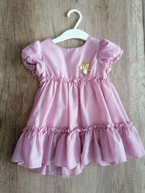 Elegancka piękna sukienka  r. 80