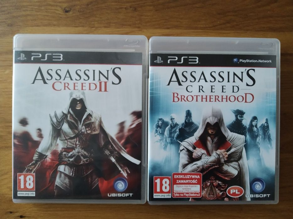 Assassin's Creed 2 + Assassin's Creed Brotherhood PS3 Warszawa - image 1