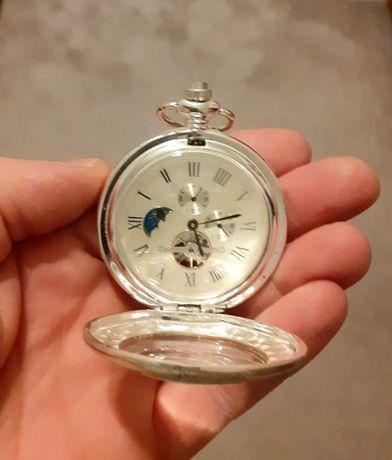 Zegarek kieszonkowy. Zegarek mechaniczny. Nowy.