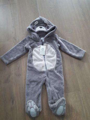 Pajac niemowlęcy nowy miś pluszowy Cool Club 74