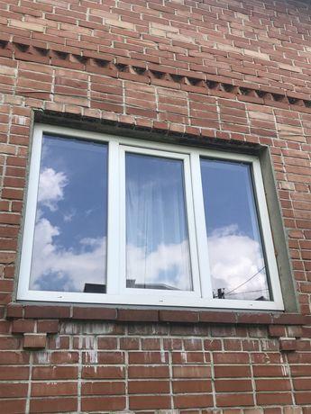Вікна металопластикові, б/в
