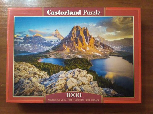 Пазлы Castorland Puzzles 1000 горы Канада