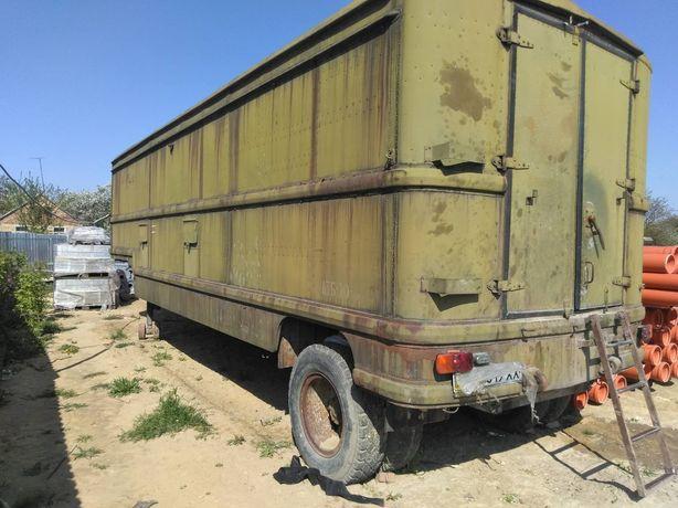 Полуприцеп ОДАЗ 820 1975 год/вагончики строителные