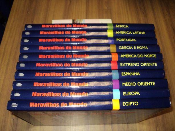 Maravilhas do Mundo composta por 10 livros