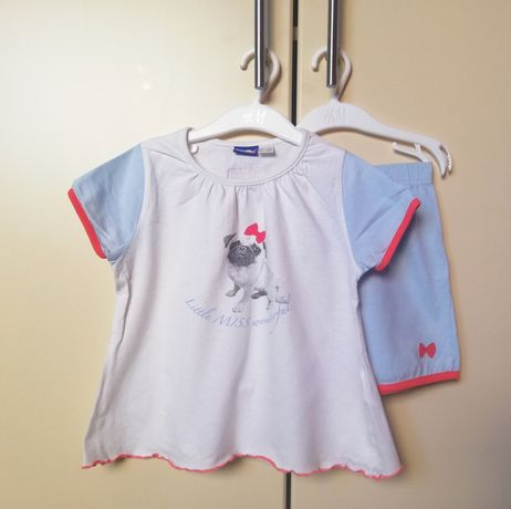 Bawełniana piżama lupilu 98-104 piesek