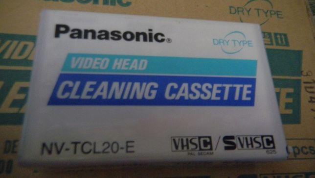 Продам чистящую видеокассету PANASONIC новую формата SVHS-C,VHS-C